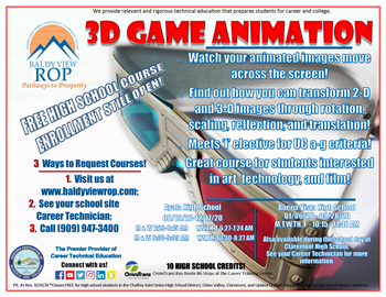 3-D Game Animation