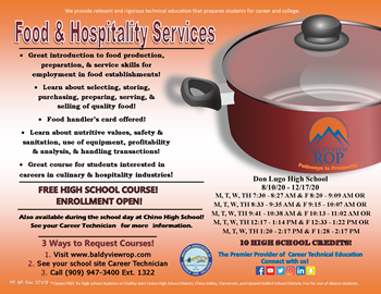 Food and Hospitality Services