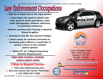 Law Enforcement Occupations
