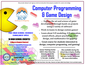 Computer Programming & Game Design