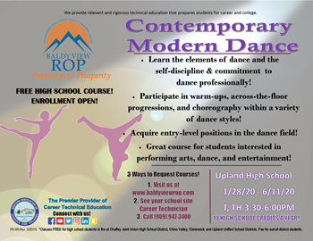 Contemporary Modern Dance