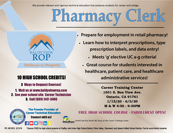 Pharmacy Clerk