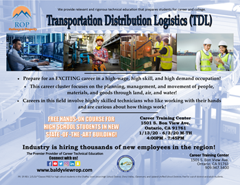 Warehouse Operations & Logistics Pathway