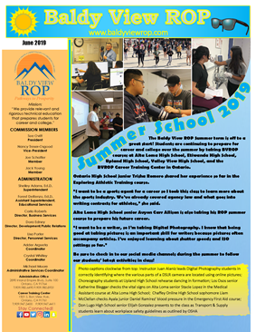 Baldy View ROP June 2019 Newsletter