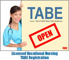 LVN TABE Registration